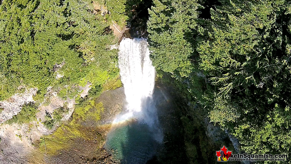 Amazing Brandywine Falls Aerial View