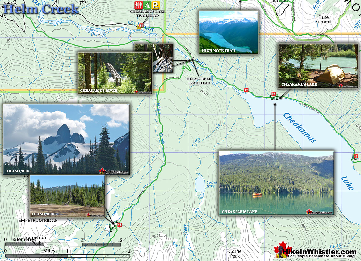 Helm Creek Map