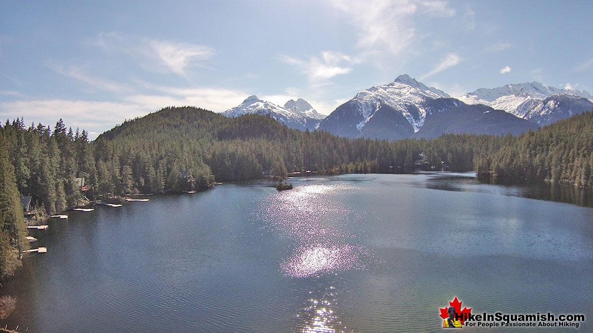 Levette Lake Aerial View