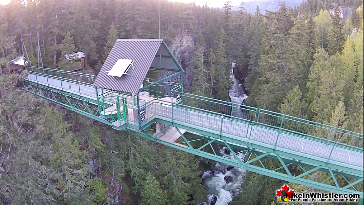 Sea to Sky Trail Bungee Bridge