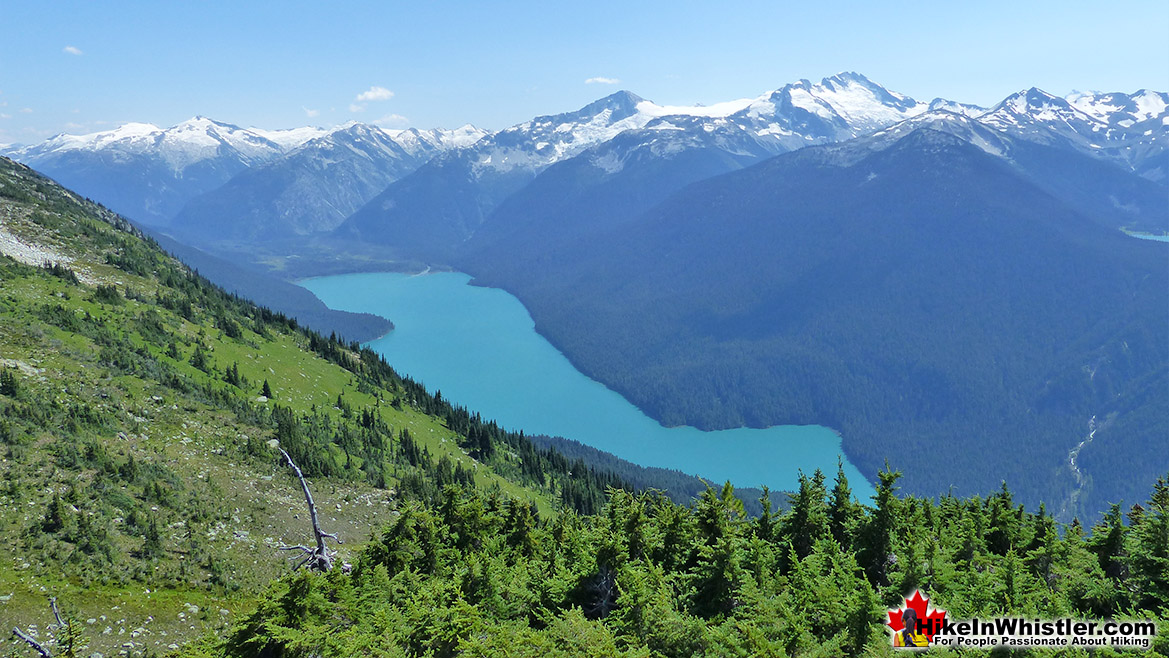 Whistler View of Cheakamus Lake